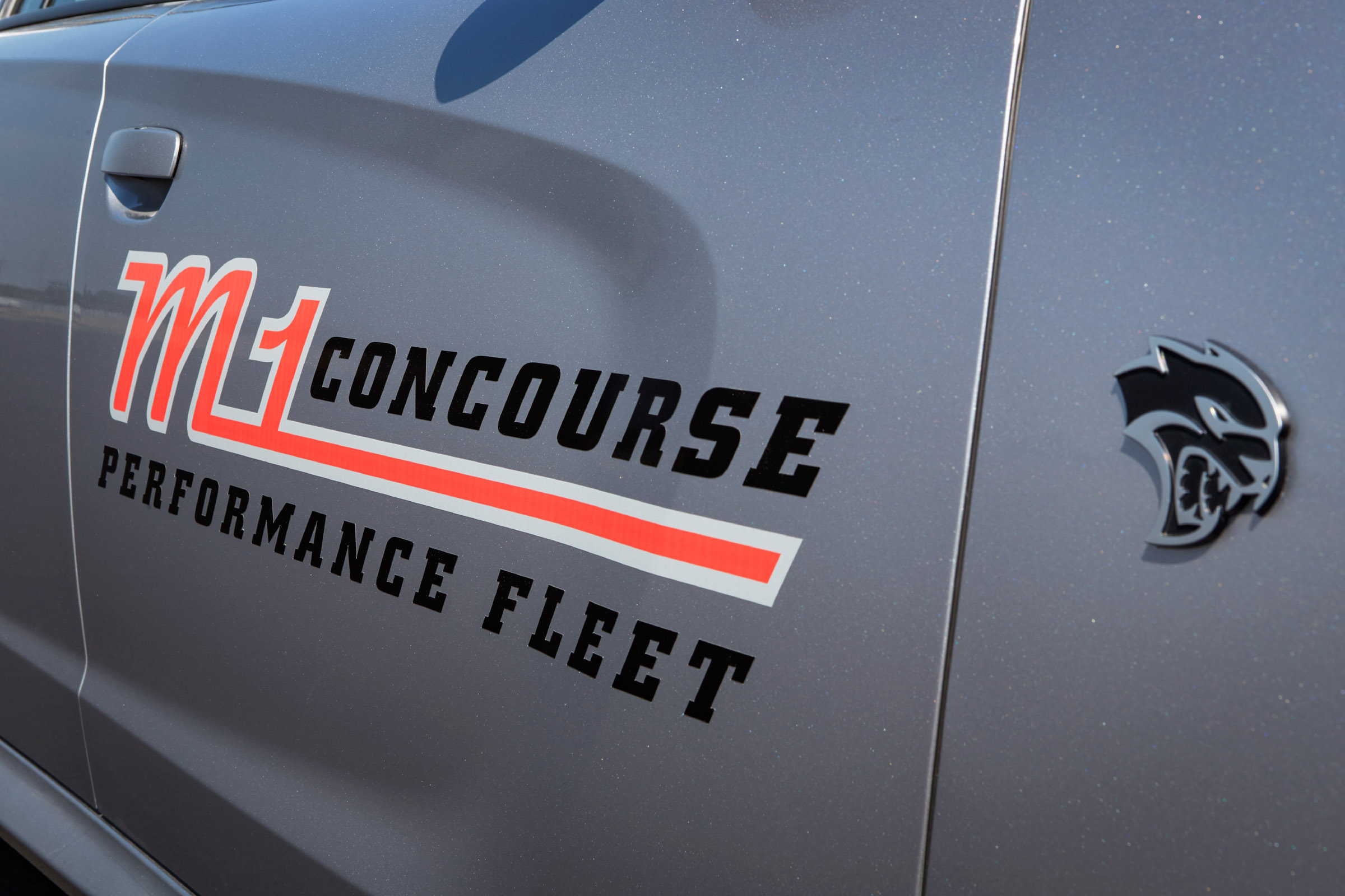 Dodge is sponsoring the new M1 Concourse
