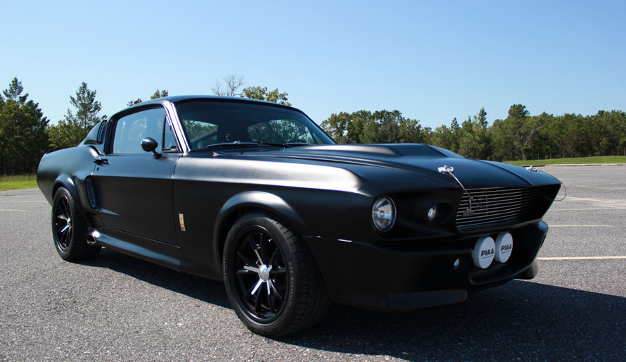 1967 ford mustang shelby gt 500e muscle cars news and pictures. Black Bedroom Furniture Sets. Home Design Ideas