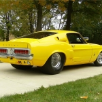 1968 Ford Mustang Fastback Custom