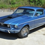 1968 Ford Mustang GT Fastback R Code 428 Cobra Jet