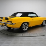 1969 Chevrolet Camaro SS - Pro Touring Convertible 502