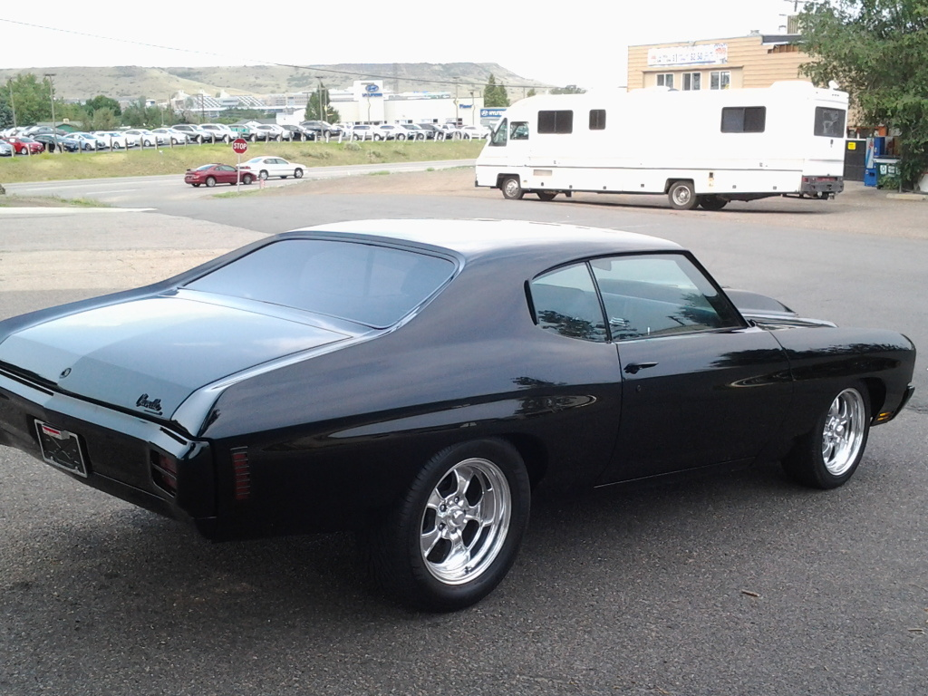 Pro touring 1970 chevelle ss 454