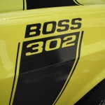 1970 Ford Mustang Boss 302 Competition Yellow