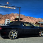 2009 Dodge Challenger Hurst Black &amp; Gold Supercharged Custom Convertible