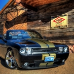 2009 Dodge Challenger Hurst Black & Gold Supercharged Custom Convertible