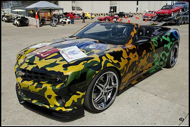 2011 chevrolet camaro by wcc auctioned muscle cars news and pictures. Black Bedroom Furniture Sets. Home Design Ideas