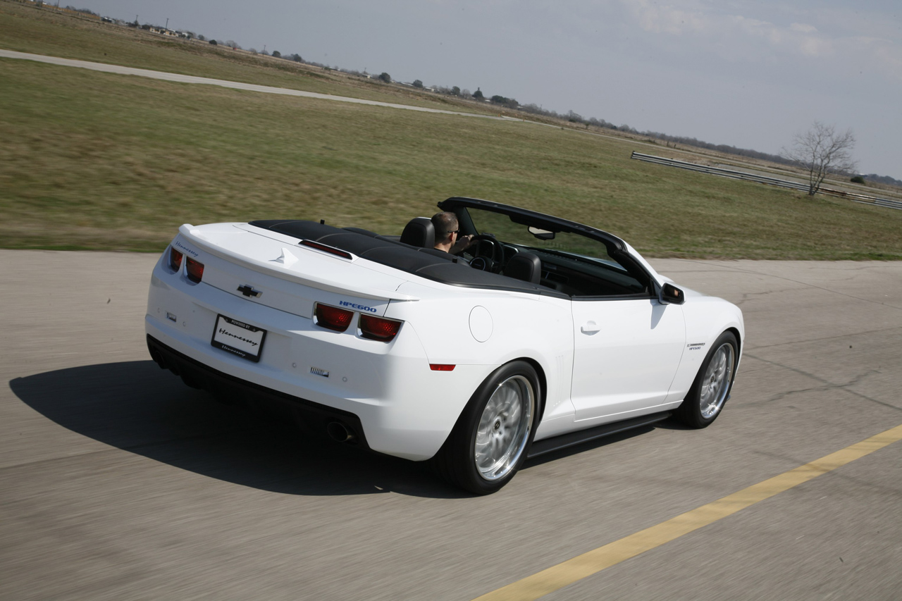2011 hennessey hpe600 supercharged camaro convertible muscle cars news and pictures. Black Bedroom Furniture Sets. Home Design Ideas