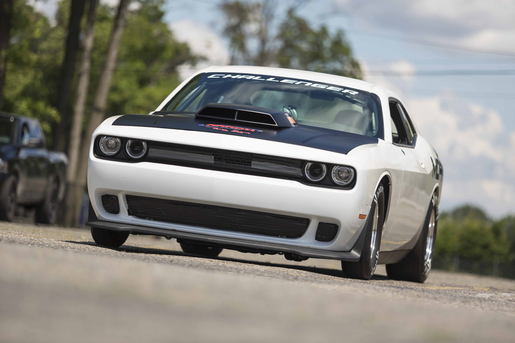 Mopar Previews 2015 Dodge Challenger Drag Pak Test Vehicle [VIDEO]
