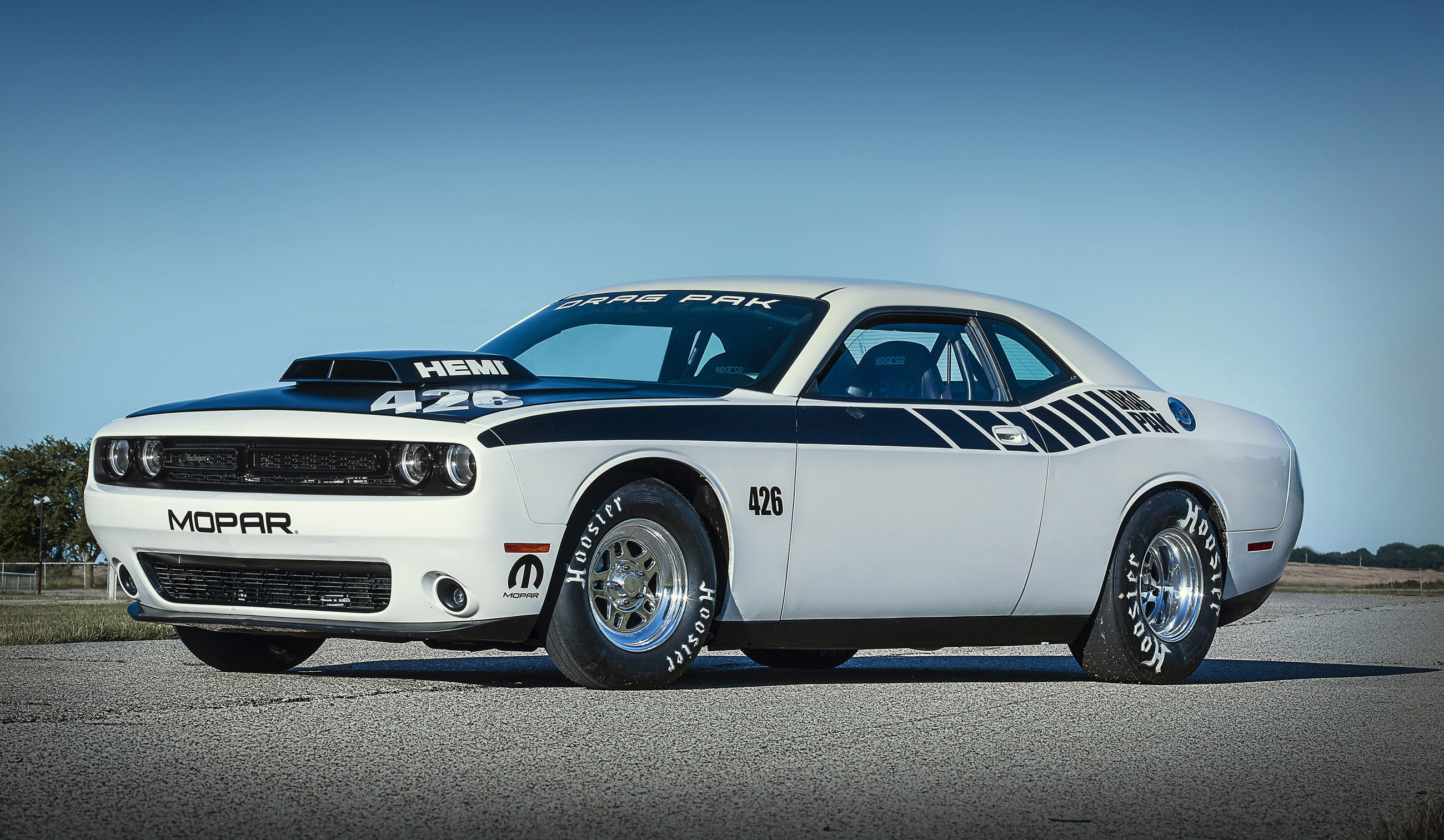 New Mopar Dodge Challenger Drag Pak Revealed Muscle Cars