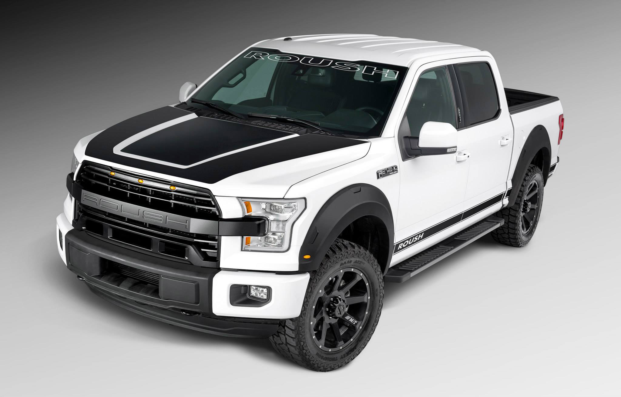 2015 roush performance ford f 150 muscle cars news and pictures. Black Bedroom Furniture Sets. Home Design Ideas