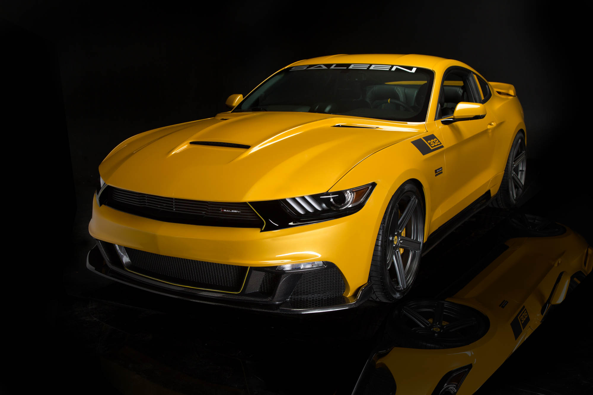 2015 Saleen Ford Mustang S302 Black Label Muscle Cars