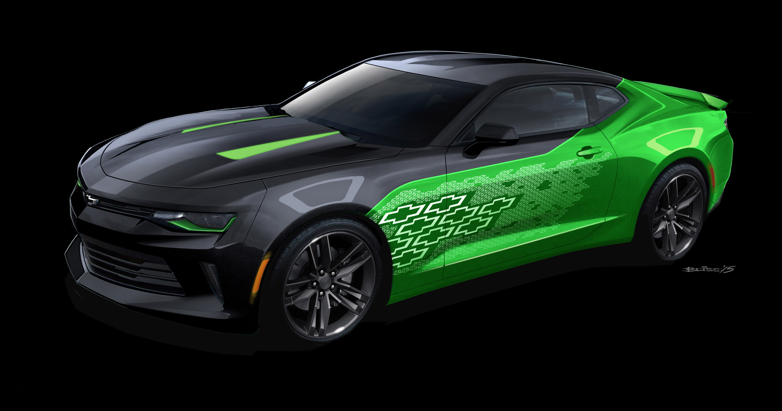 2016 Chevrolet Camaro Krypton concept