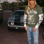 Bret Michaels 1969 Chevrolet Camaro Custom Coupe