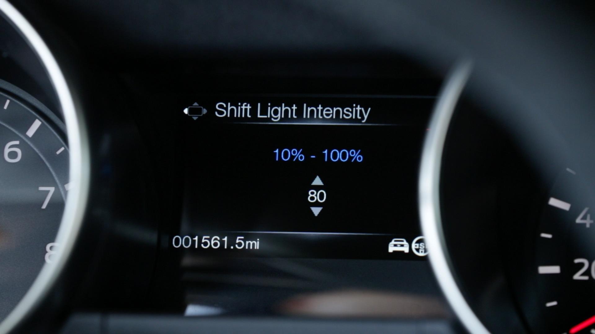 Ford GT350 Performance Shift Light Indicator