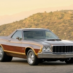 Ford Ranchero Muscle Car