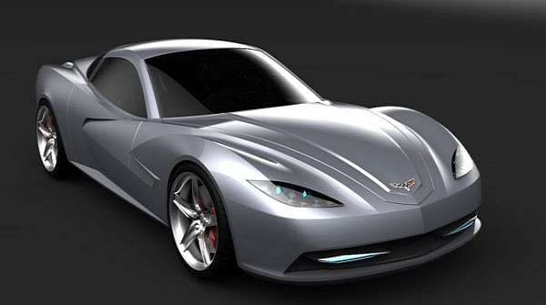 future chevrolet corvette rendered muscle cars news and