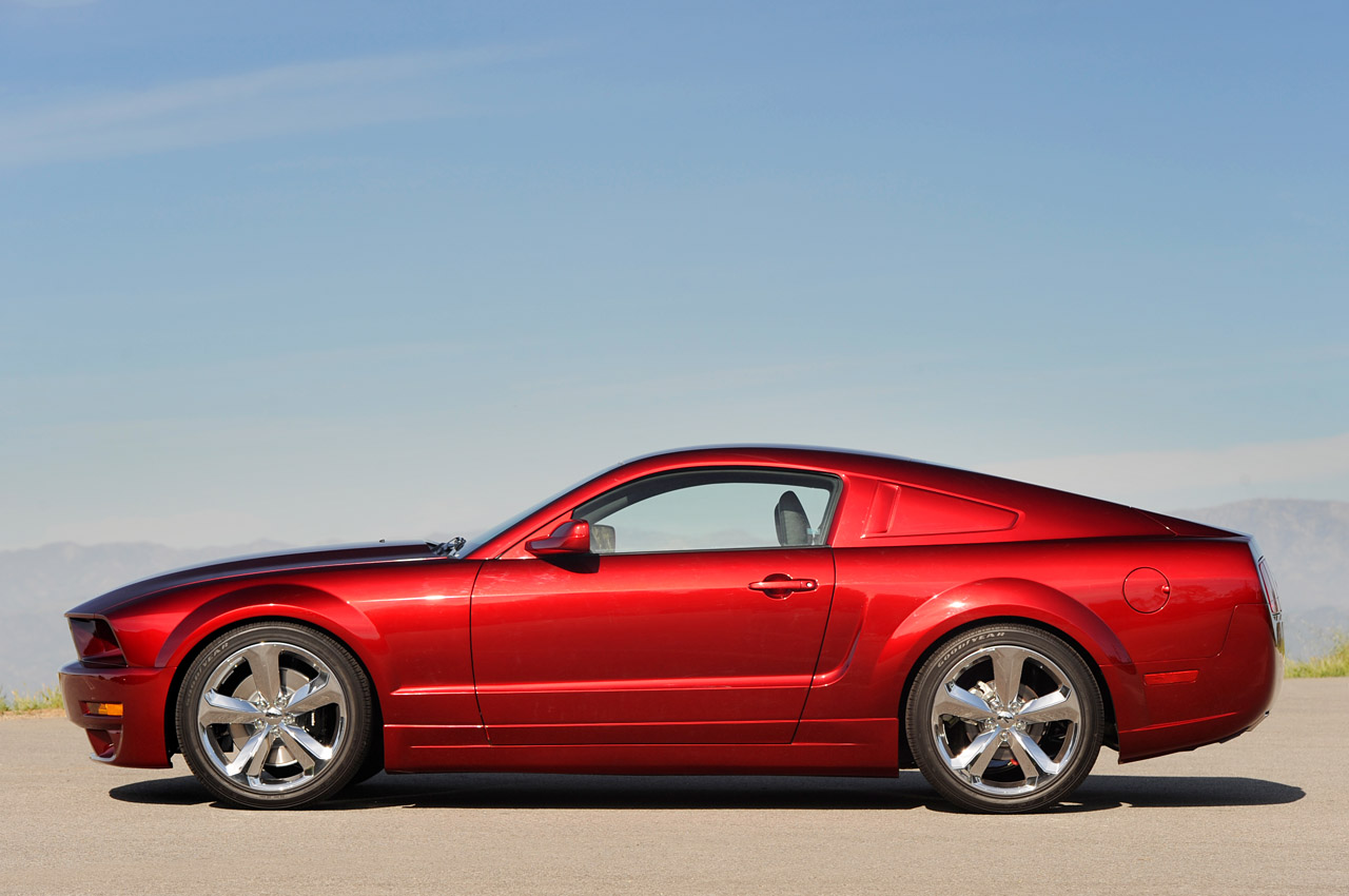 Mustang Z28 >> Lee Iacocca's 45th Anniversay Ford Mustang in Candy Apple Red - Muscle Cars News and Pictures