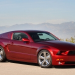 Lee Iacocca 45th Anniversay Ford Mustang in Candy Apple Red