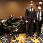 Super Bowl XLVI MVP Takes Home Chevrolet Corvette