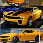 Transformers 3 Chevrolet Camaro Bumblebee