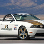 Ford Mustang 2010 Hurst Convertible Pace Car