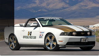 Ford Mustang 2010 Hurst Convertible Pace Car - Muscle Cars Blog