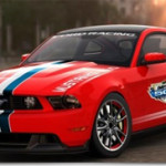 Ford Mustang GT 2011 Paces Daytona 500
