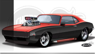1968 Chevrolet Camaro Cherry Bomb - Muscle Cars Blog