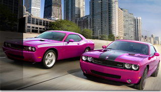 Dodge Challenger Furious Fuchsia - Muscle Cars Blog