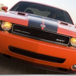 Dodge Charger and Challenger SRT8 at Geneva