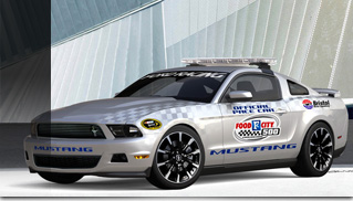 2011 Ford Mustang V6 - NASCAR Pace Car - Muscle Cars Blog