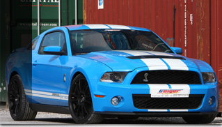 Geiger Ford Mustang Shelby GT500 - Muscle Cars Blog