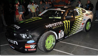 2011 Monster Energy Ford Mustang - Muscle Cars Blog