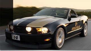 2010 Hurst Ford Racing Mustang Challenge Pace Car - Muscle Cars Blog