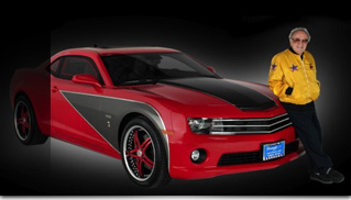 George Barris And Kustomized Camaro Spirit - Muscle Cars Blog