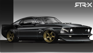 RTR-X Mustang by Vaughn Gittin Jr. for 2010 SEMA - Muscle Cars Blog