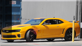 Transformers 3 Autobot Bumblebee Revealed - Muscle Cars Blog