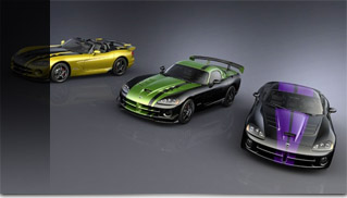 Three Special-Edition Vipers for Top Dealers - Muscle Cars Blog