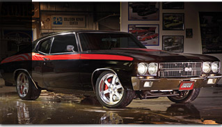 Armed Forces Foundation Chevelle for charity - Muscle Cars Blog
