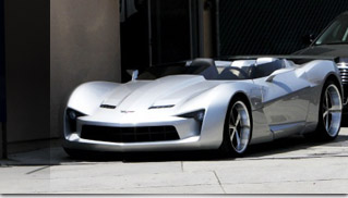 Chevrolet Corvette Stingray 2010 on Transformers Corvette Stingray Concept   Muscle Cars Blog