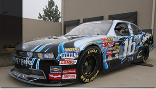 2010 Ford Mustang Nascar Nationwide - Muscle Cars Blog