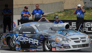 2010 Mopar Challenger at Mile-High NHRA Nationals - Muscle Cars Blog