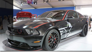 2011 Ford Mustang SR-71 Blackbird - Muscle Cars Blog
