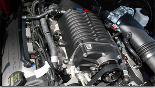 Ford Racing supercharger pumping 5.0 V8 up to 624 HP - Muscle Cars Blog