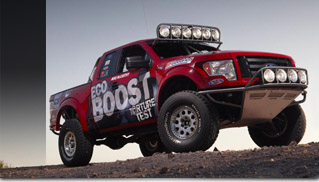 2011 Ford F-150 Desert Racer - Muscle Cars Blog