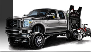 Ford F-Series Ready for SEMA - Muscle Cars Blog