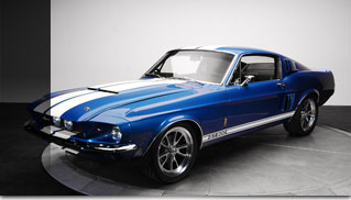 Restomod '67 Shelby GT500 Mustang - Muscle Cars Blog