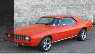 1969 Chevrolet Camaro owned by Paul Teutul, Sr - Muscle Cars Blog