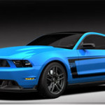 Special Grabber Blue Mustang Boss at Barrett-Jackson
