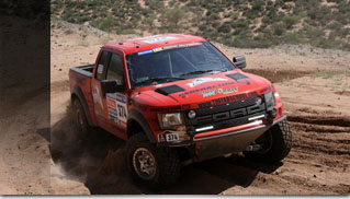 Darren Skilton &amp; Sue Mead - First US Ford Raptor Team to Win a Class in Dakar Rally - Muscle Cars Blog